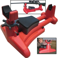 MTM K-ZONE SHOOTING REST RED 3/CS