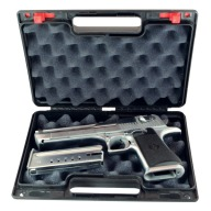 "BERRY SINGLE PISTOL CASE 11.38""x7.25""x2.75"" 12/cs"