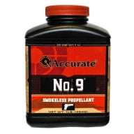 Accurate No. 9 Smokeless Powder 8 Pound