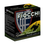 "FIOCCHI AMMO 20ga 3"" SP-STEEL 1500fps 7/8oz #5 25b 10c"