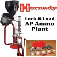 Hornady Lock-N-Load Ammo Plant Progressive Reloading Press Kit 110 Volt