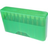MTM RIFLE SLIP TOP 20rd X-SMALL/CLEAR GREEN 24/CS