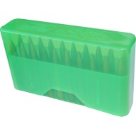 MTM RIFLE SLIP TOP 20rd LARGE/CLEAR GREEN 24/CS