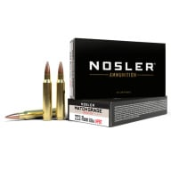 NOSLER AMMO 223 REMINGTON 69gr CUSTOM MATCH 20/bx 20/cs