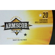 ARMSCOR AMMO 223 REMINGTON 62gr FMJBT 20/bx 50/cs
