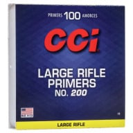 CCI PRIMER 200 LARGE RIFLE 5000/CASE
