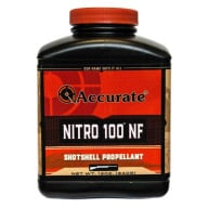 Accurate Nitro 100 Smokeless Powder 3/4 Pound