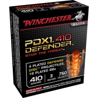 "WINCHESTER AMMO 410ga 3"" ELITE PDX1 SELF DEFENSE 10b 10c"