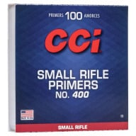 CCI PRIMER 400 SMALL RIFLE 5000/CASE