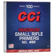 CCI PRIMER 450 SMALL RIFLE MAGNUM 5000/CASE