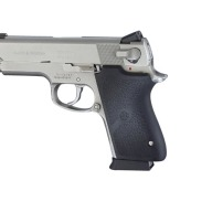 HOGUE GRIP S&W COMPACT 45ACP & 40S&W BLACK