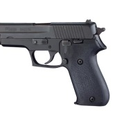 HOGUE GRIP SIG SAUER P220 AMERICAN 45ACP BLACK