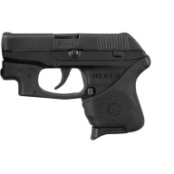 HOGUE GRIP HANDALL RUGER LCP W/LASER BUTTON SLIPON