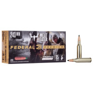 FEDERAL AMMO 243 WINCHESTER 85gr TROPHY (V/S) 20/bx 10/cs
