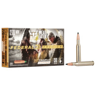 FEDERAL AMMO 270 WINCHESTER 130gr TROPHY (V/S) 20/bx 10/cs