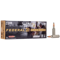 FEDERAL AMMO 270 WSM 130gr TROPHY (V/S) 20/bx 10/cs