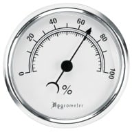 LOCKDOWN HYGROMETER GAUGE (MEASURES HUMIDITY)