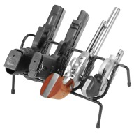 LOCKDOWN HANDGUN RACK 4 GUN VINYL COATED STEEL