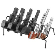 LOCKDOWN HANDGUN RACK 6 GUN VINYL COATED STEEL