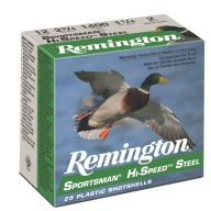 "REMINGTON AMMO 12ga 2.75"" STEEL 1365fps 1oz #6 25/b 10/c"