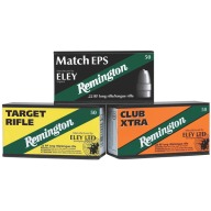 REMINGTON AMMO 22LR 40gr LRN ELEY TGT-RIFLE 50/b 100/c