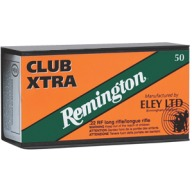 REMINGTON AMMO 22LR 40gr LRN ELEY CLUB XTRA 50/b 100/c