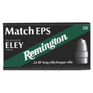 REMINGTON AMMO 22LR 40gr LRN ELEY MATCH EPS 50/b 100/c