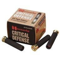 "HORNADY AMMO 410ga 2.5"" TRIP DEFENSE 20/BX 10/CS"
