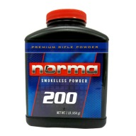 NORMA POWDER 200 8LB (RIFLE) 2/CS