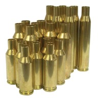 Norma Brass 270 Weatherby Unprimed Box of 25
