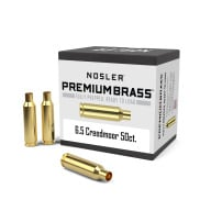 Nosler Brass 6.5 Creedmoor Unprimed Box of 50