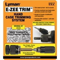 LYMAN E-ZEE TRIM HAND CASE TRIMMER