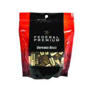 FEDERAL BRASS 40 S&W UNPRIMED GM PREMIUM 100/bag 5/cs