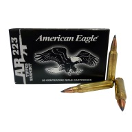 FEDERAL AMMO 223 REMINGTON 50gr AE POLYMER-TIP 20/bx 25/cs
