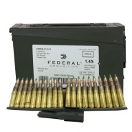 FEDERAL (LC) AMMO 5.56mm 62gr GREEN-TIP CLIPPED 420/CAN