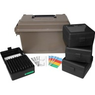MTM AMMO CAN FOR 223 REMINGTON w/4 RS-100s DARK EARTH 6c