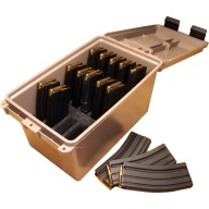 MTM TACTICAL MAG CAN HOLD 15 30RD AR-15 MAGS 6/CS