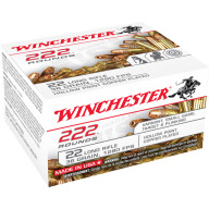 WINCHESTER AMMO 22LR 36gr COPPER PLATED HP 222/bx 10/cs