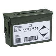 FEDERAL (LC) AMMO 5.56mm 55gr FMJBT CLIPPED 420/CAN