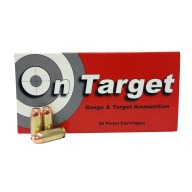 ON TARGET AMMO 40S&W 165g FMJ (USED BRASS) 50b 20c