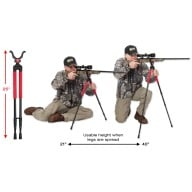 BOG BIPOD SB-2 BLACK SPORTSMANS, SHORT