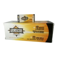 ARMSCOR AMMO 22LR 36gr CP HP 1260fps 500/BRICK 10/C