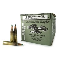 FEDERAL (LC) AMMO 5.56mm 62gr M855 GREEN-TIP 150/b 4/c