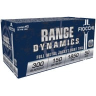FIOCCHI AMMO 300 AAC BLACKOUT 150gr FMJBT 50/bx 10/cs