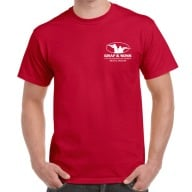 GRAF & SONS T-SHIRT RED EXTRA LARGE
