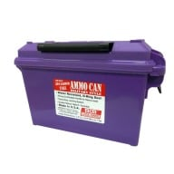 MTM 30c AMMO CAN TALL PURPLE 8/CS