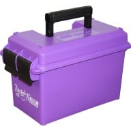 MTM 50c AMMO CAN 7.4x13.5 x8.5 PURPLE 6/CS