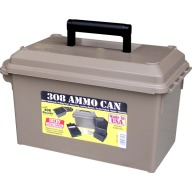MTM AMMO CAN FOR 308 WINCHESTER w/4 RM-100s DARK EARTH 6c