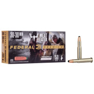 FEDERAL AMMO 30-30 WINCHESTER 150gr TROPHY COPPER 20/bx 10/cs