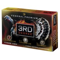 "FEDERAL AMMO 12ga 3"" TURKEY 1150fps 1.75 #5/6/7 5/bx"